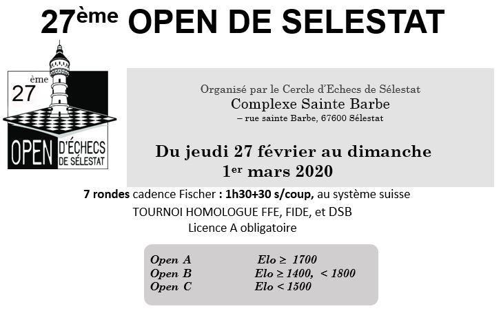 27e Open de Sélestat